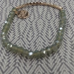 Glory collection New grey/green bead bracelet